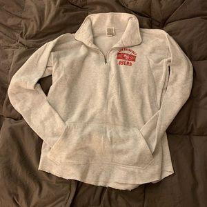 PINK San Francisco Fleece 1/2 Zip Sweatshirt